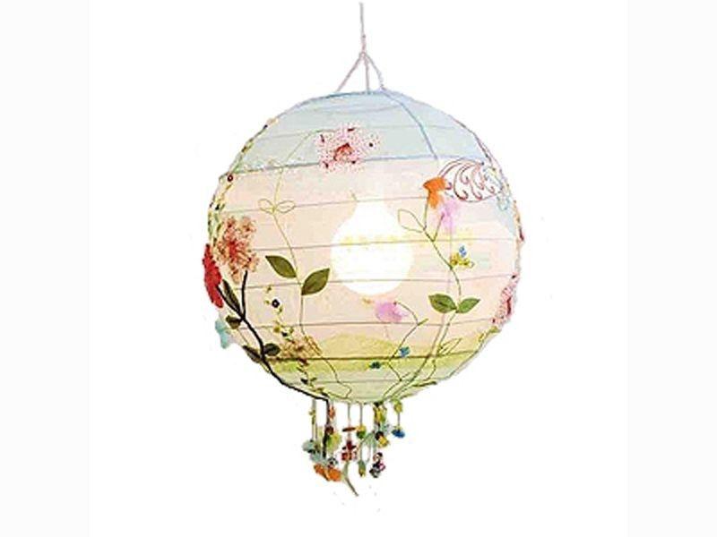 Kinderlampe heaven earth von taj wood gro taj wood lampen - Lampions kinderzimmer ...