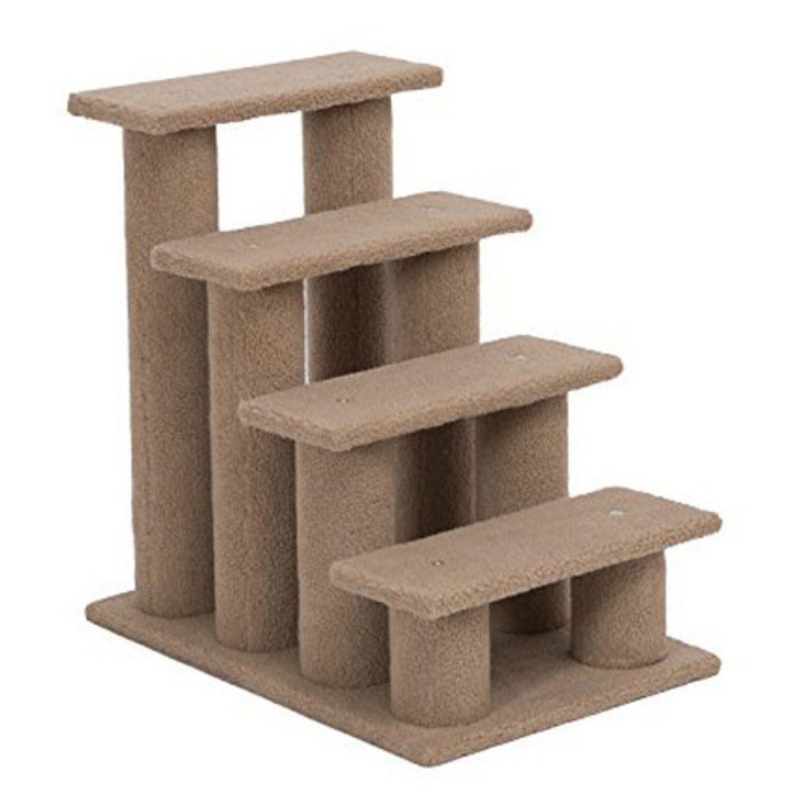 Pawhut 24 in. 4 Step Cat Tree Stairway Perch Cat