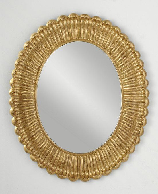 Murray Feiss Emmet Antique Gold Mirror - MR1118PAG