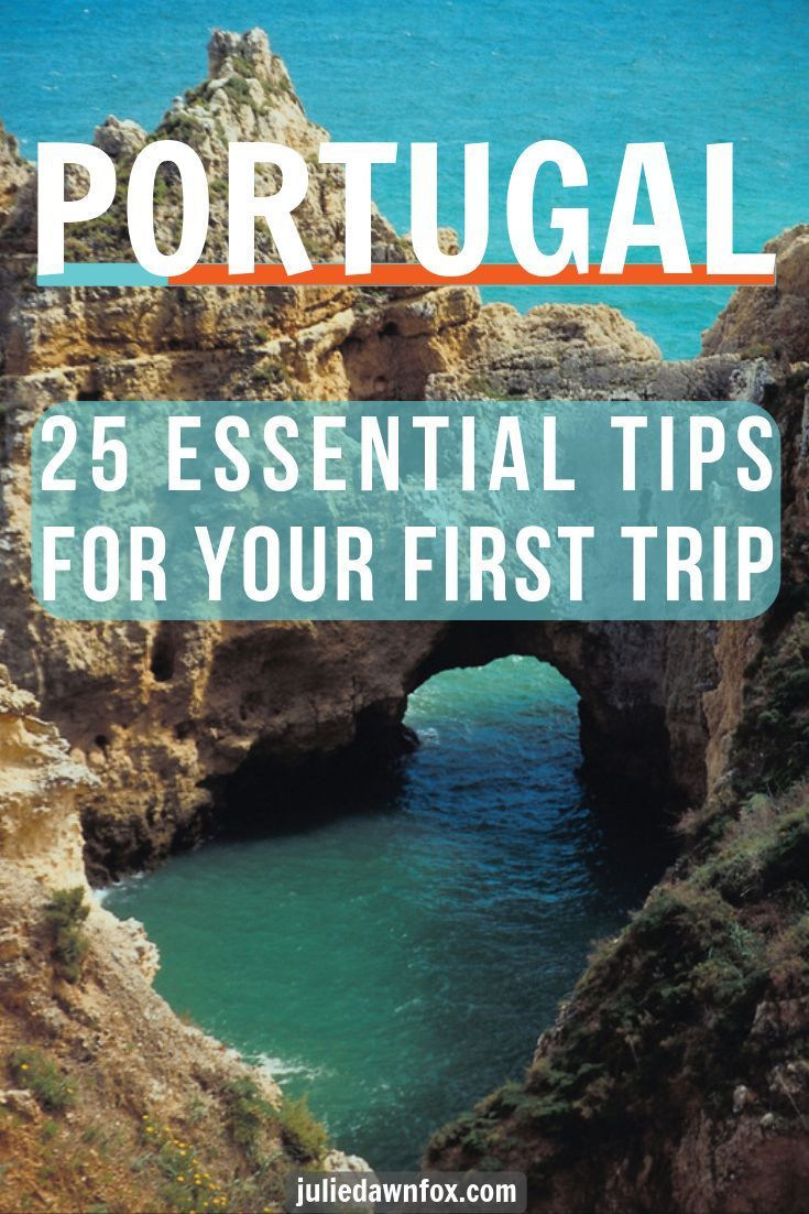 25 Essential Tips For Your First Trip To Portugal #traveltoportugal Portugal is without doubt one of the most beautiful countries in Europe, and these 25 tips tell you everything you need to know for your first trip there. Just some areas covered are: when to go, what to pack, money matters - including where to find discounts - and what to expect when you're eating out. #Europe #Portugal #traveltips #vacation #money #eatingout #europeantraveldestinations