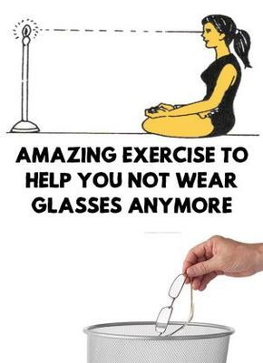 In this article I will present you a great exercise that if you repeat it daily, you will improve your eyesight and you will not wear glasses anymore!