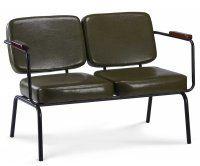 Sedie Retro ~ Twist divano vintage imbottito pu sedie vintage
