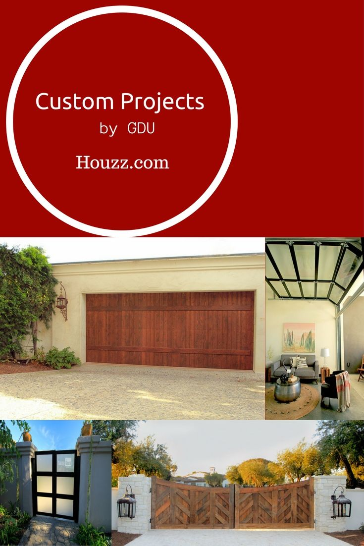 We Have Some AMAZING Projects On Houzz.com Come Find Garage Doors Unlimited!
