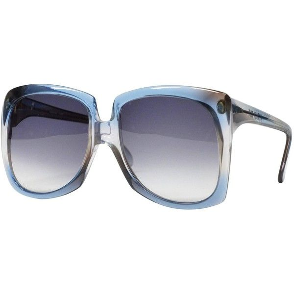 1970s Super Oversized Vintage Sunglasses by Sweden Frames model ...