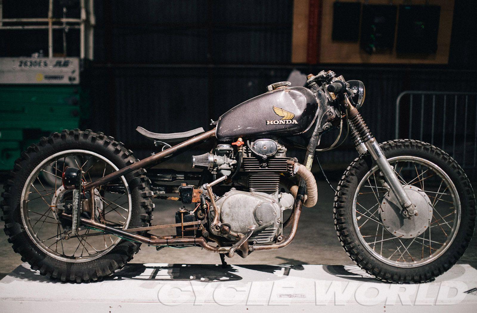 Honda CB 350 rigid