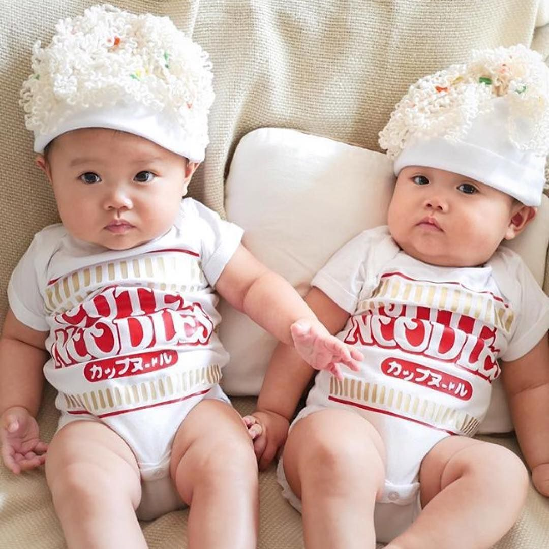 203b6fe39 Ramen baby costumes made by Buzz Bear Studio. Perfect for first halloween  baby girl or boy