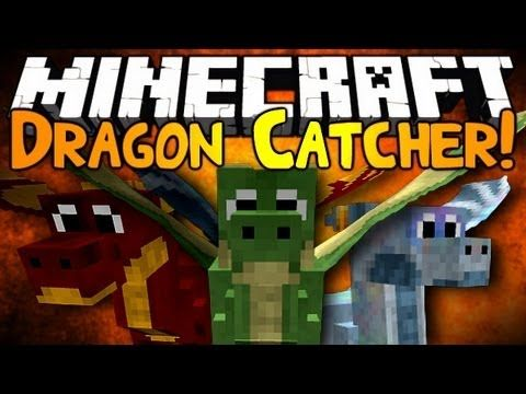 Minecraft Mod Showcase Dragon Catcher Minecraft Minecraft