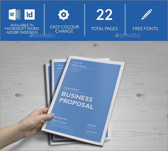 100+ Best Photo Realistic Project Proposal Templates | Proposal ...