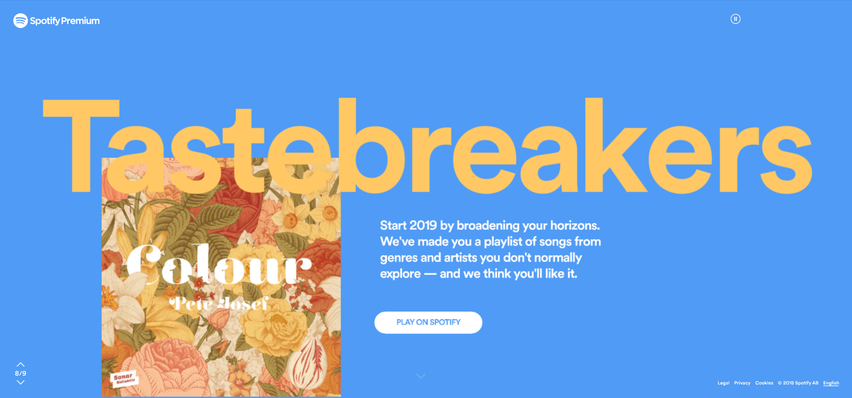 This type animation is sweeeeet check it! Spotify