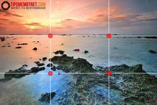 Contoh Rule Of Third Landscape Fotografi Pemula Teknik Fotografi Fotografi