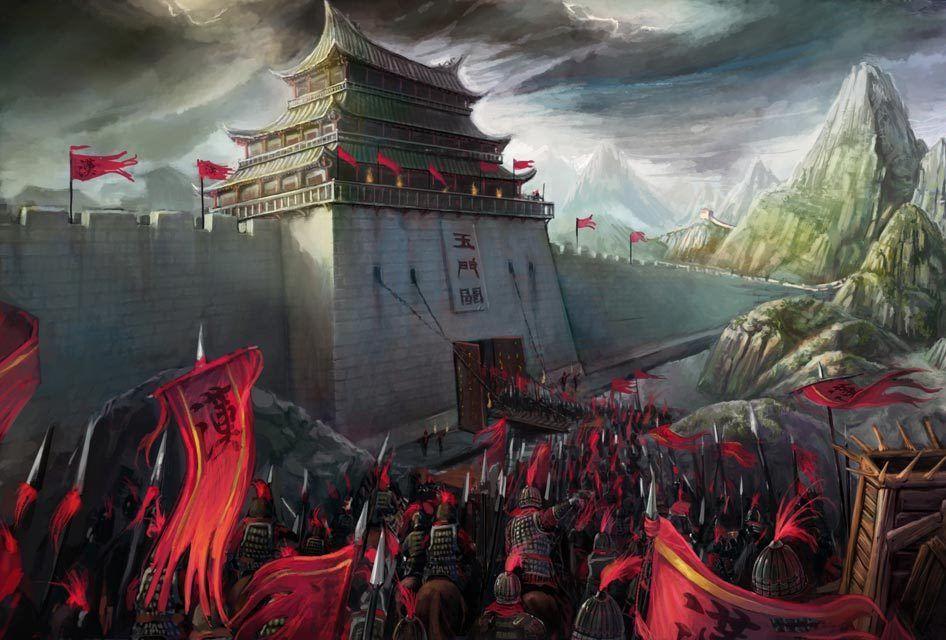 Emperor Han-Wu's army, China