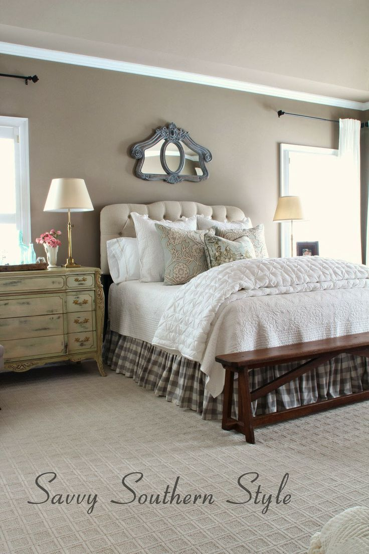 Adding french farmhouse style in the master french