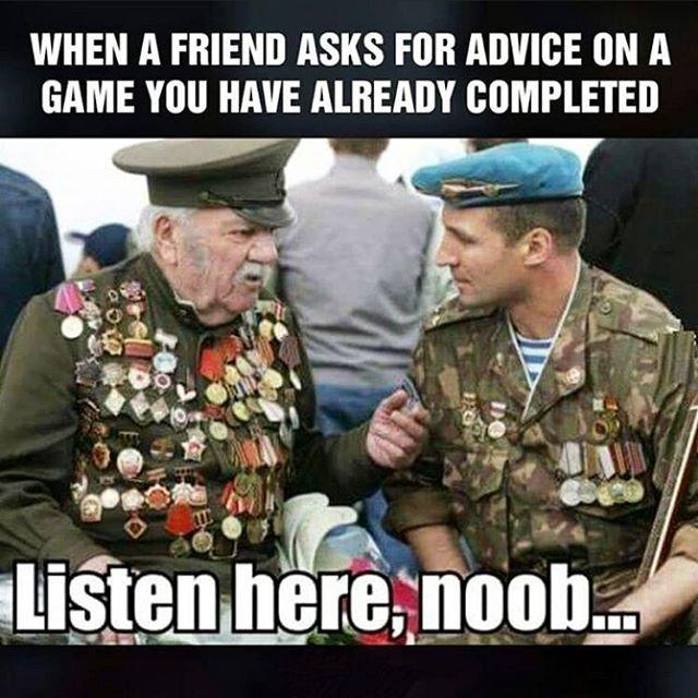 Listen here noob.... 😁.