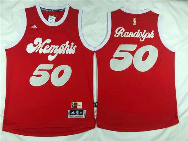 uk availability c0744 2832c memphis grizzlies 50 zach randolph red hardwood classic ...