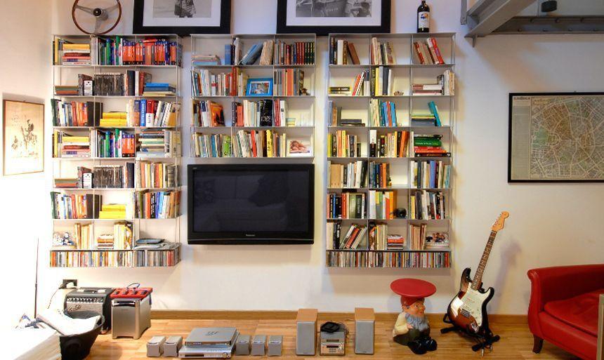 Extrêmement inspirant bibliothèque murale modulable | Décoration française  PV45