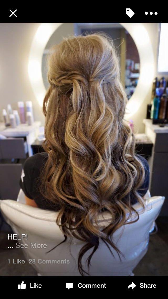 Pin by Christine Kasper on 4M | Pinterest | Prom hair, Hair makeup ...