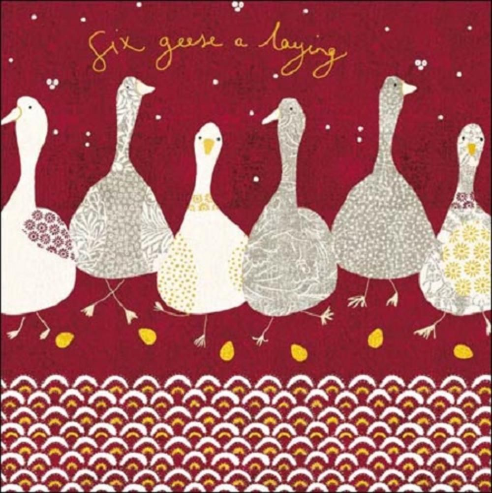 Six geese a laying national trust greeting card 12 days of six geese a laying national trust greeting card kristyandbryce Gallery