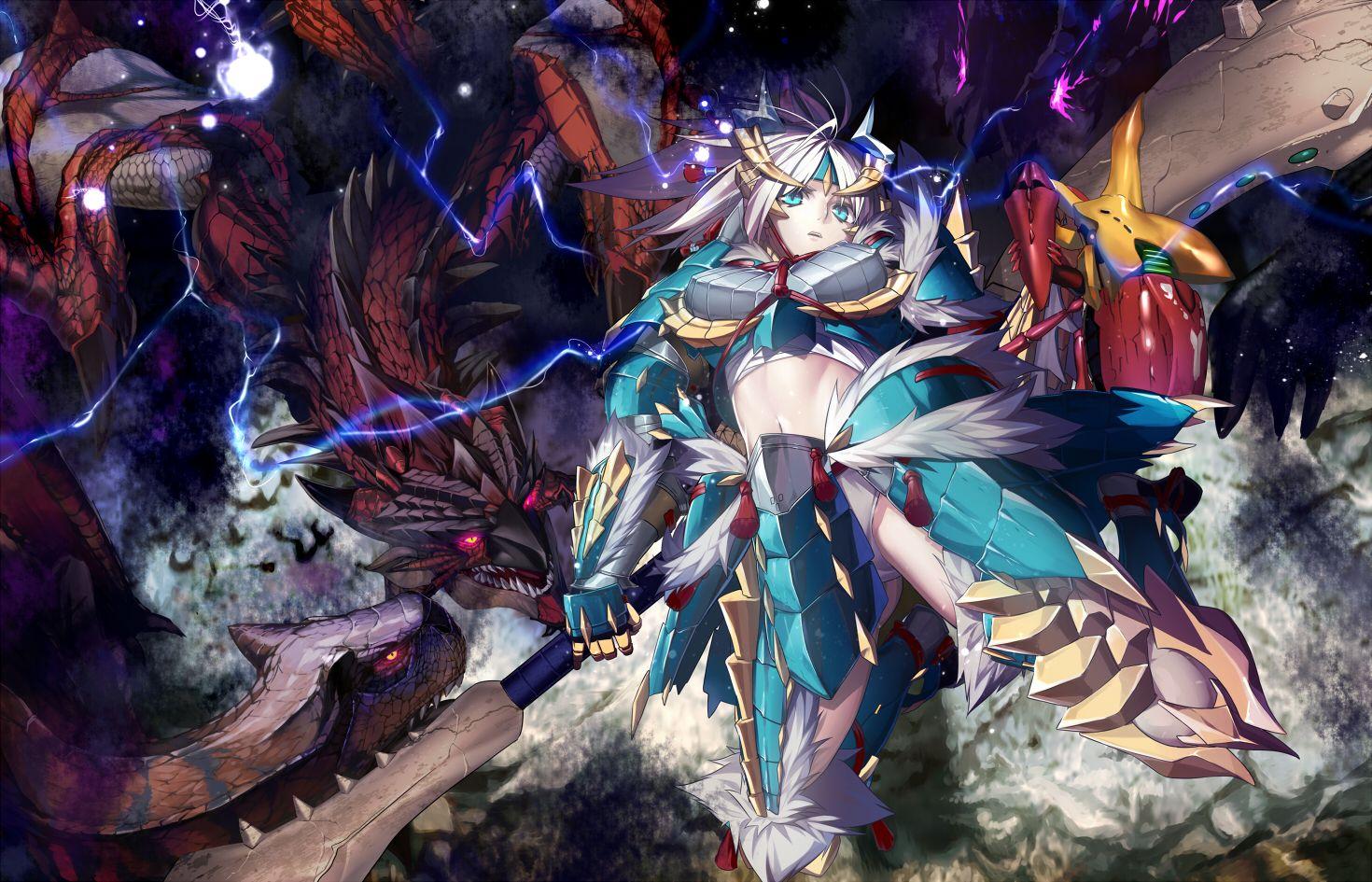 Monster Hunter Tigrex Ratholos Zinogre Armor Monster Hunter Hunter Anime Monster Hunter World