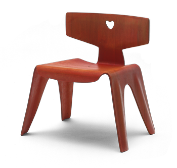 Eames childs chair in MoMA's ambitious survey of 20th