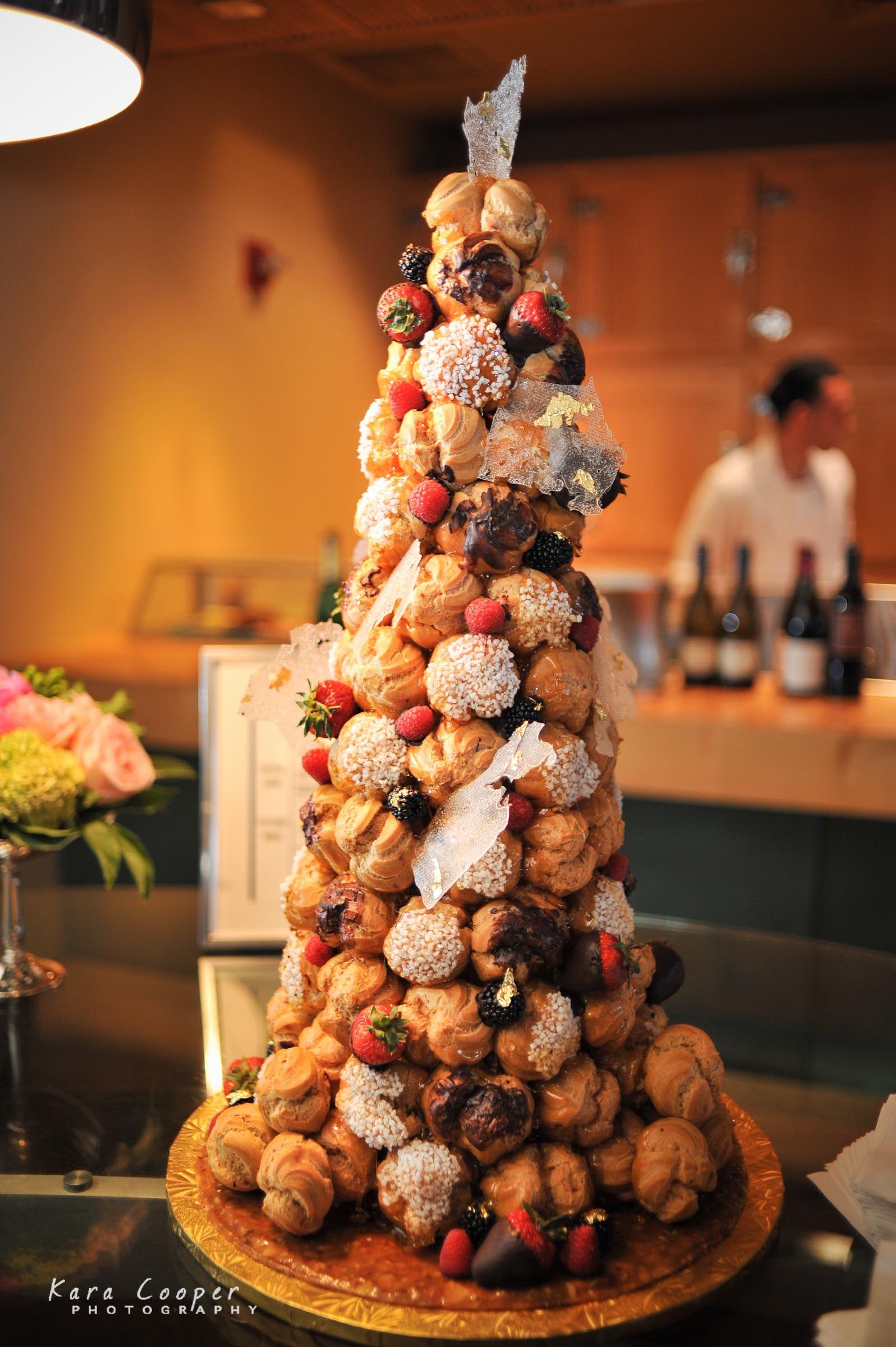 Profiterole Wedding Cake