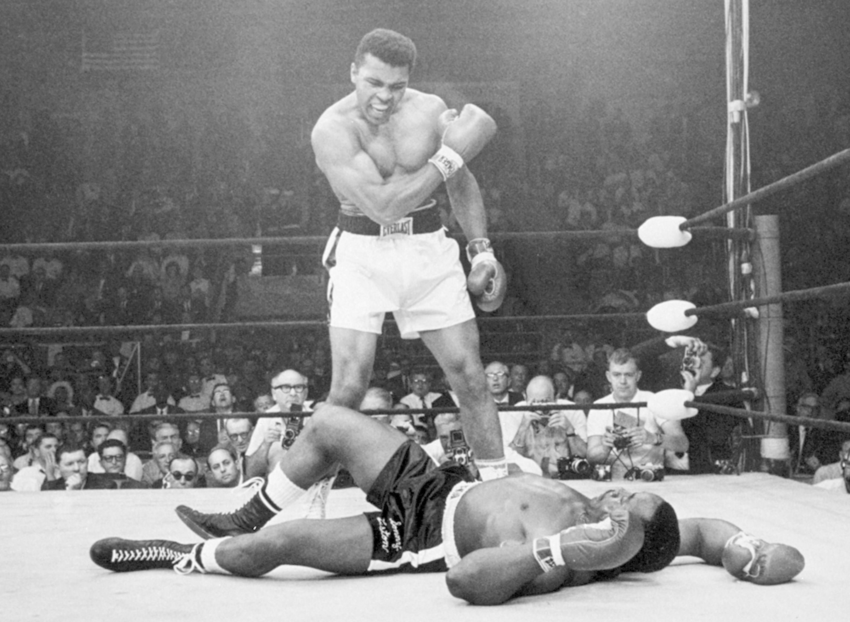 Muhammad Ali Sonny Liston Wallpaper Hd 47
