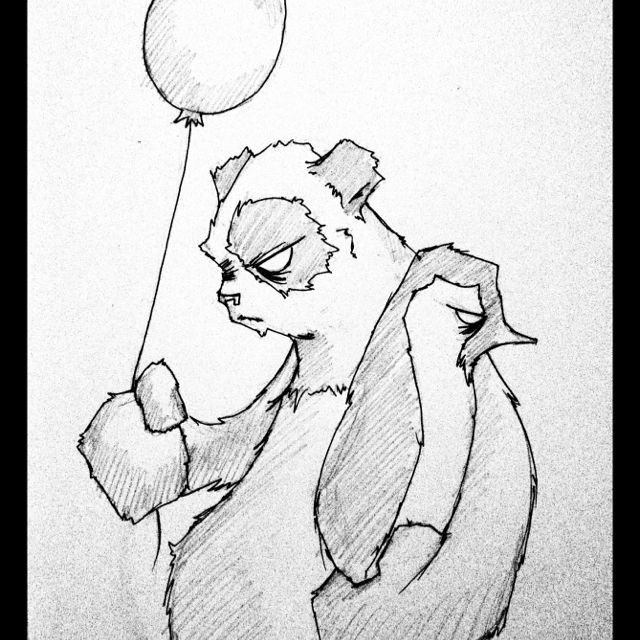 A day at the fair aka panda bear hug