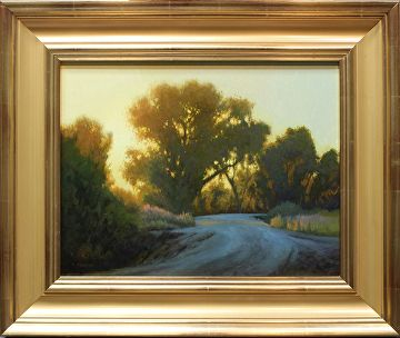 Down the Old Country Road by Kevin Courter Oil ~ 14 x 18