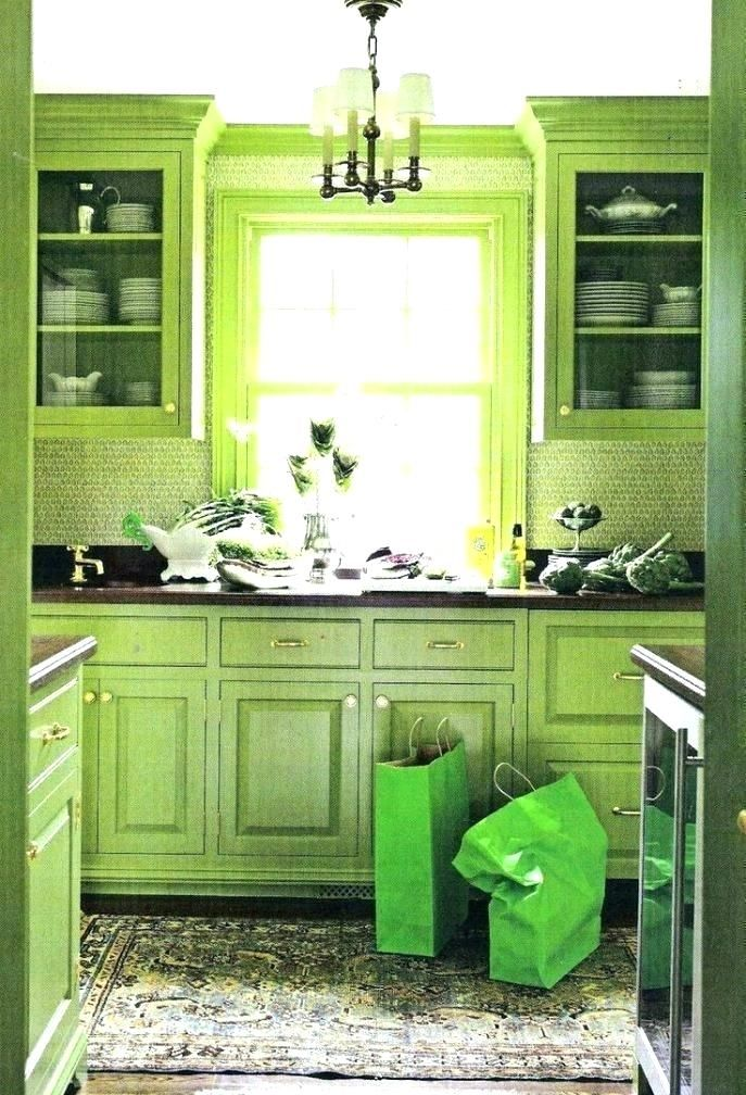 Stunning Green Kitchen Decor Red And Lime Purple Apple