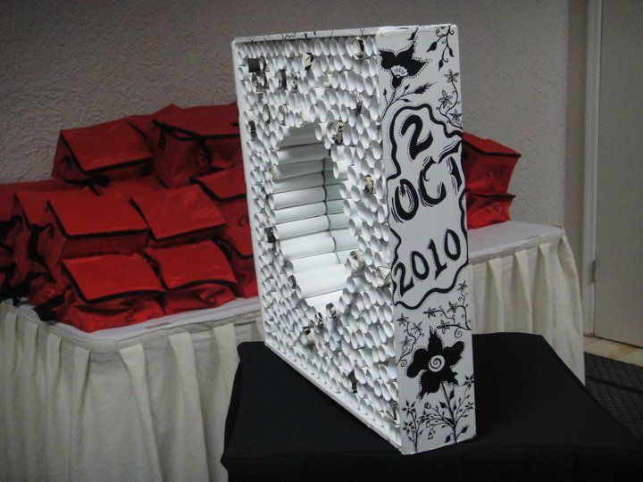 Memory Wall for a Wedding... hours to make, but couple LOVED it... willing to make more for the right price :)