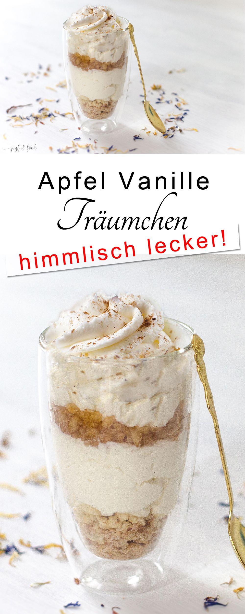 Apfel Vanille Träumchen #herbstgerichte