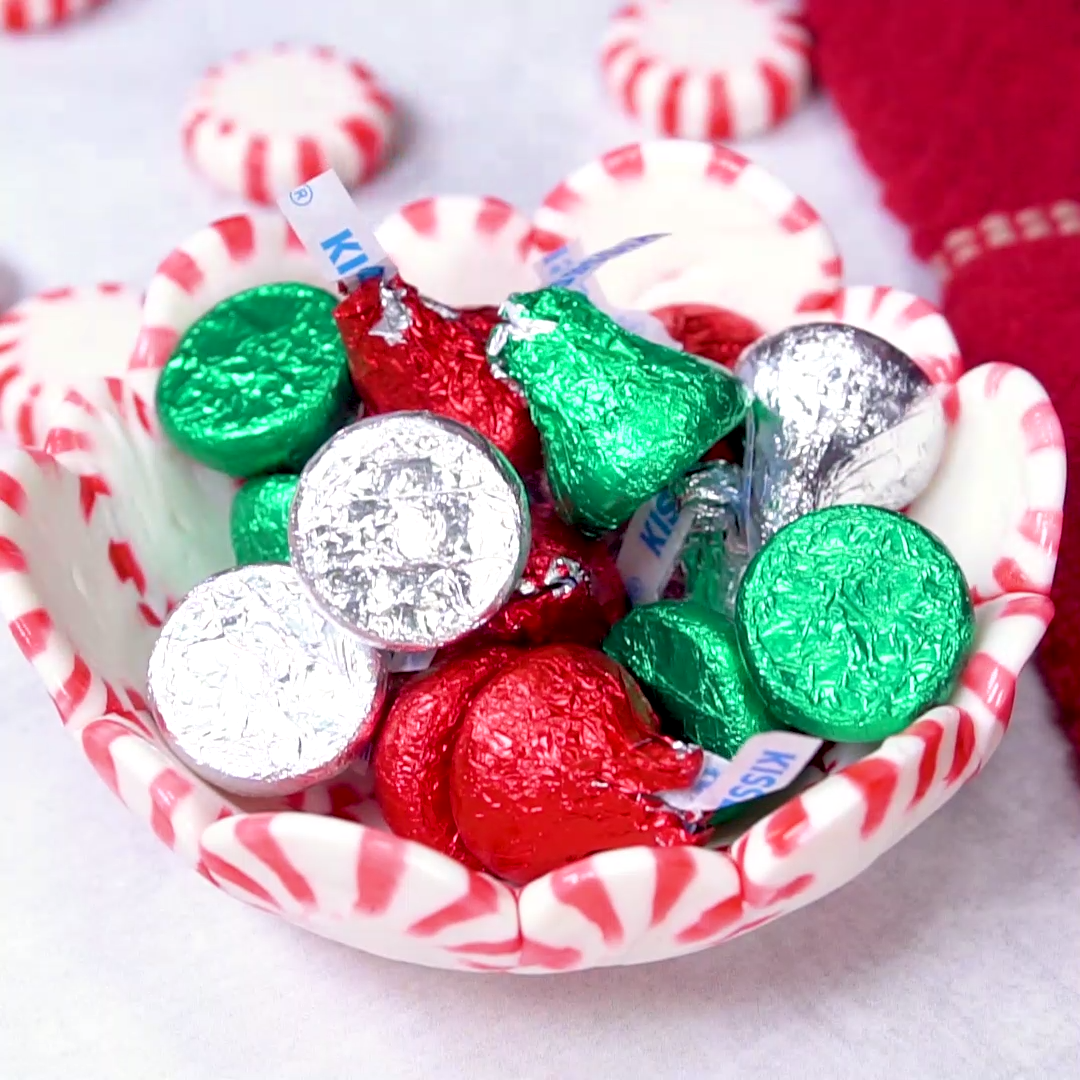 DIY Peppermint Candy Bowl {video}