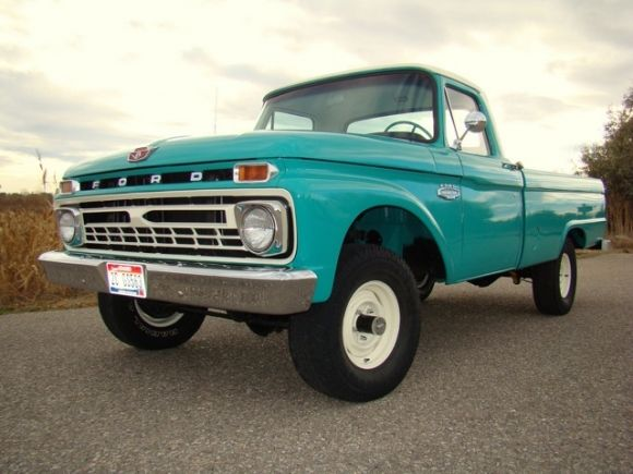Bat Exclusive Clean 1966 Ford F100 4x4 1966 Ford F100 Ford
