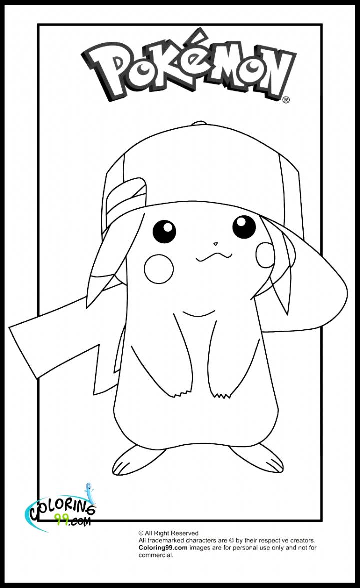 Pikachu Pokemon Coloring Page Pokemon Coloring Pokemon Coloring Pages Pikachu Coloring Page