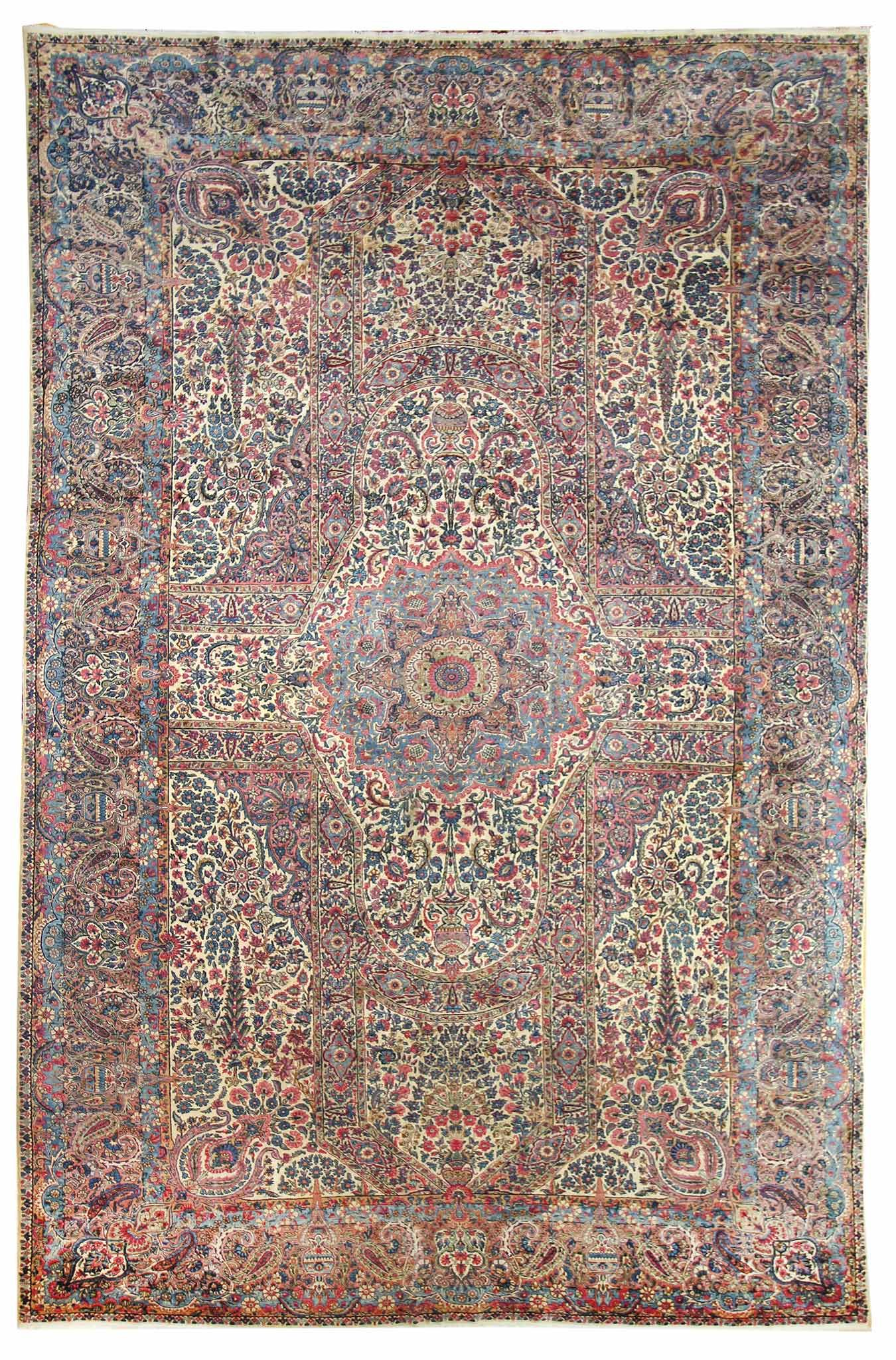 Oversize Antique Rugs Gallery Oversize Lavar Kerman Rug Hand Knotted In Persia Size 11 Feet 9 Inch Es X 20 Feet 4 Inc Kerman Rugs Antique Persian Rug Rugs