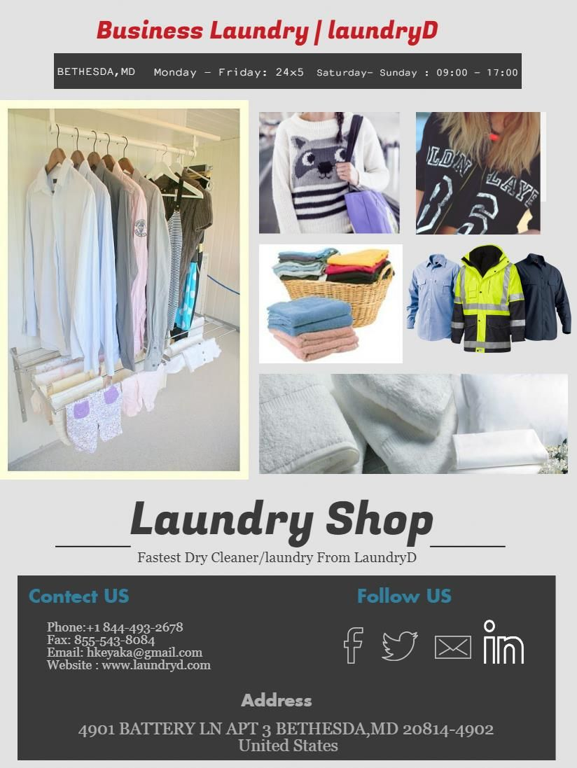 Laundryd Provides Quality And Caring Commercial Laundry Services