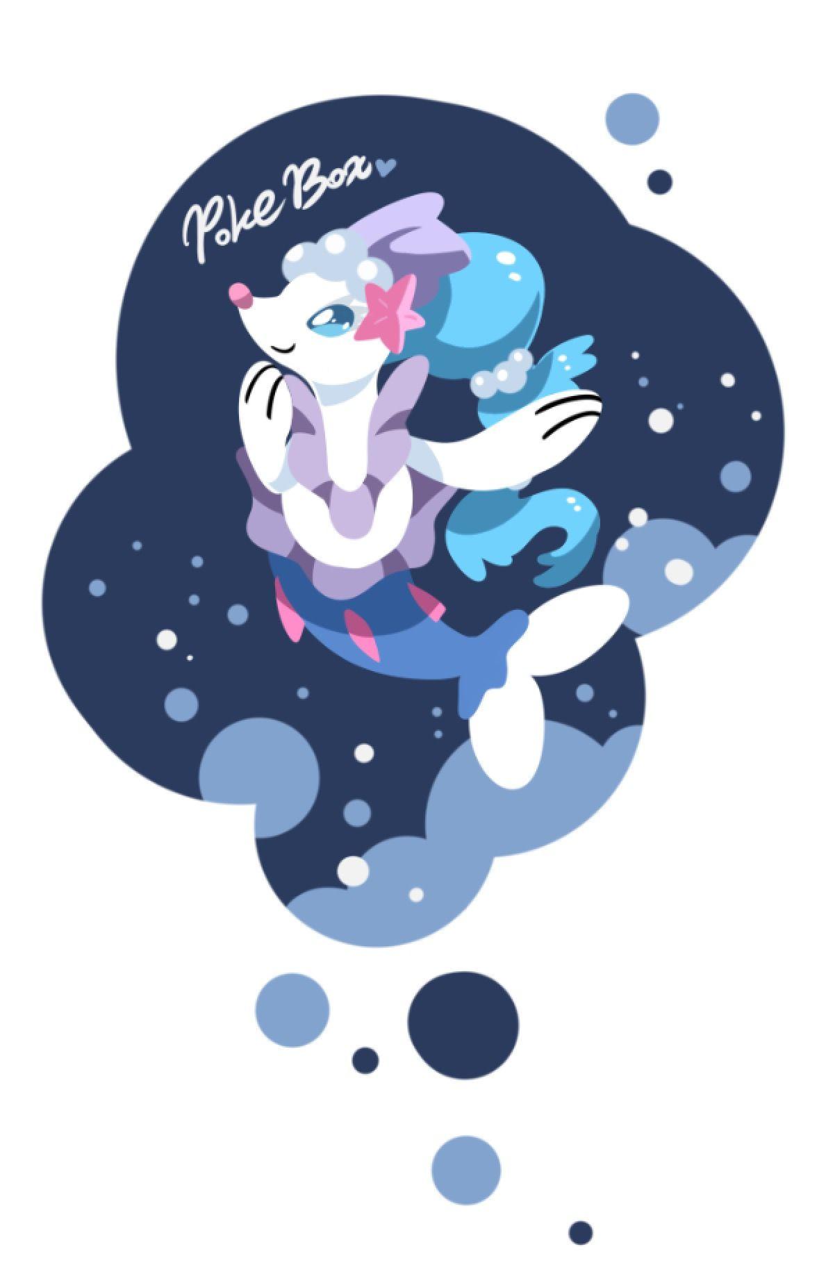 人魚姫「アシレーヌ」 | ポケモン | ポケモン、人魚姫、ポケモン イラスト