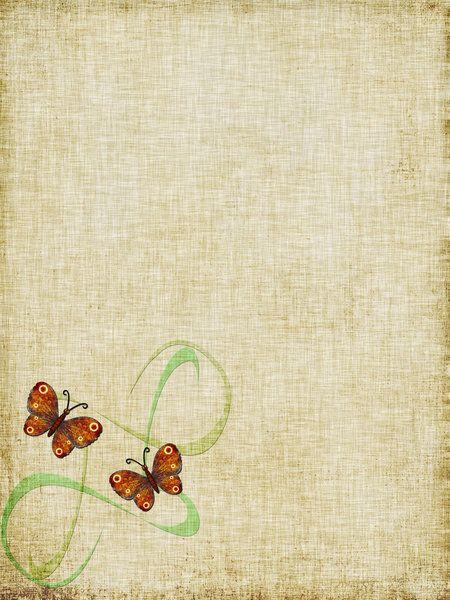 Old Love Letter Background Scrap Grunge Old Paper Scrap Background Paper Background Texture Butterfly Stationary Old Letters