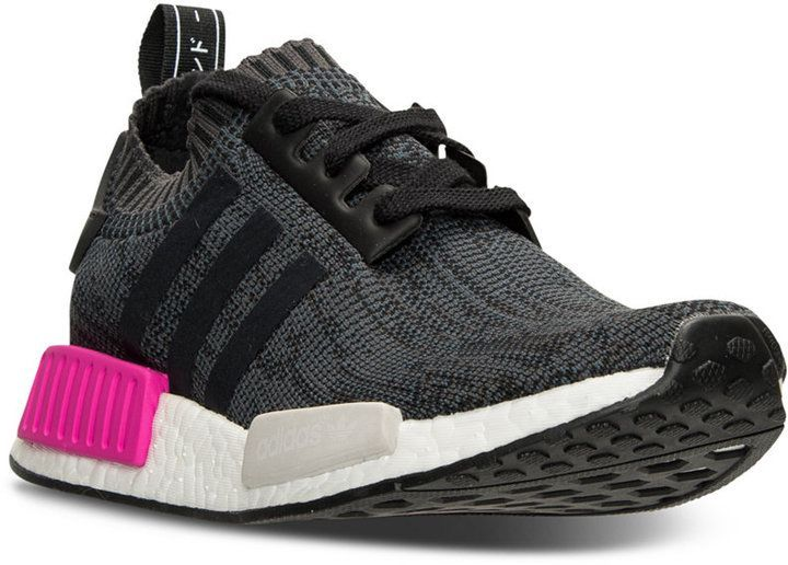 9470aa39a adidas Women s NMD XR1 Primeknit Casual Sneakers from Finish Line ...