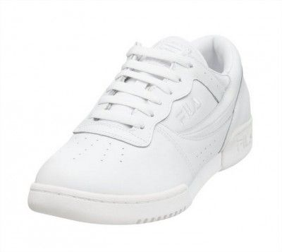Tênis Fila Men s Original Vintage Fitness Shoe Triple White  Tênis  Fila b274da56e16