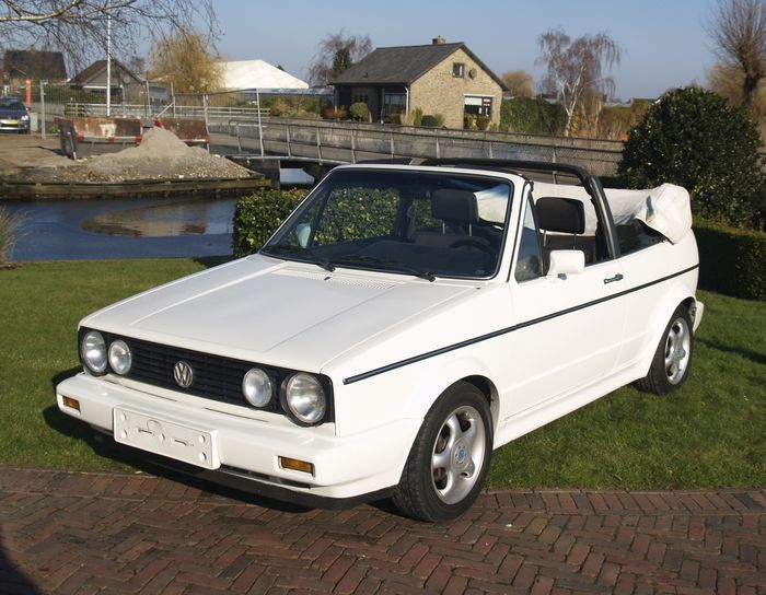 Online veilinghuis Catawiki: Golf Mark I Cabrio - 1981