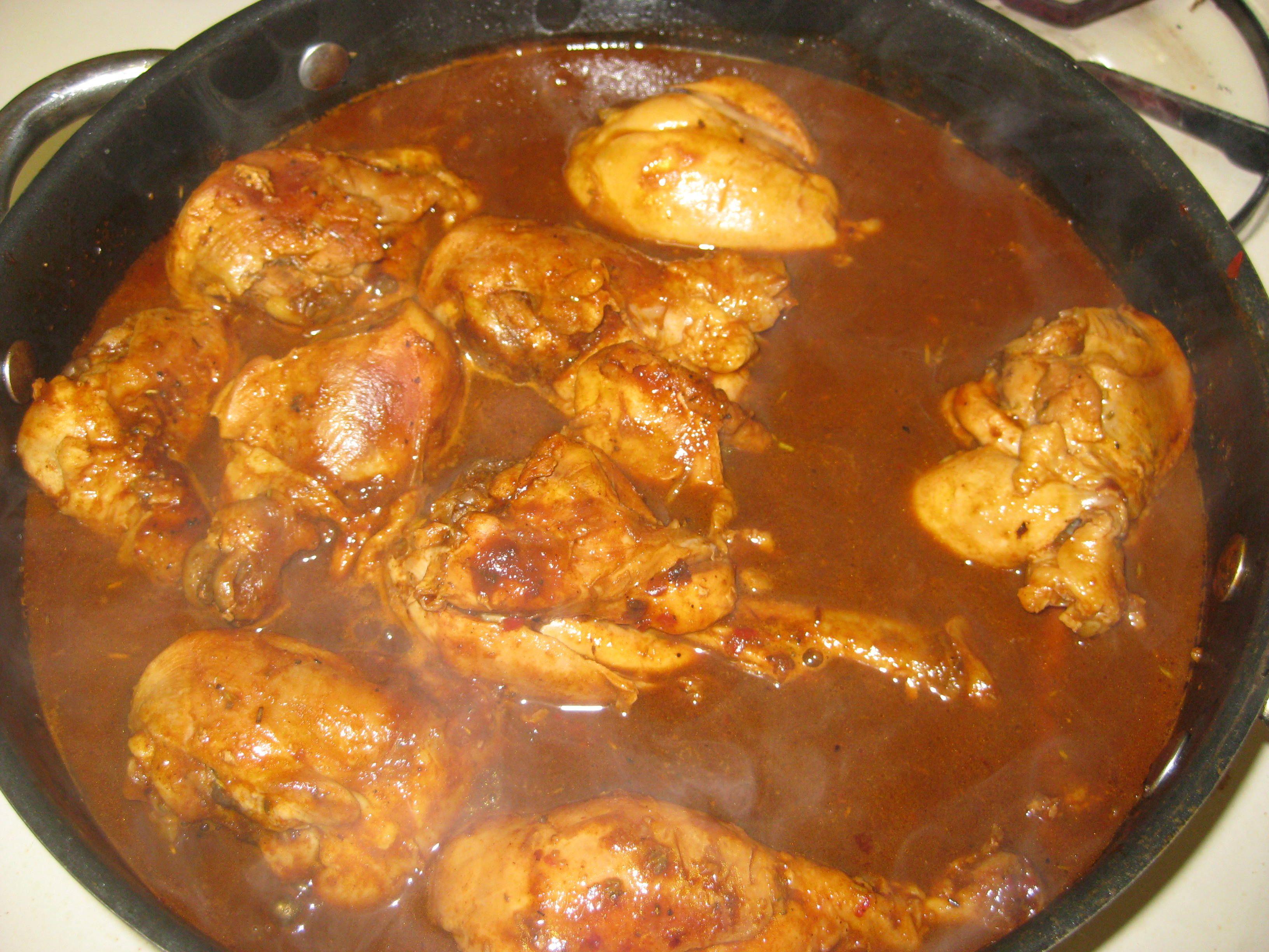 Chicken guiso recipe