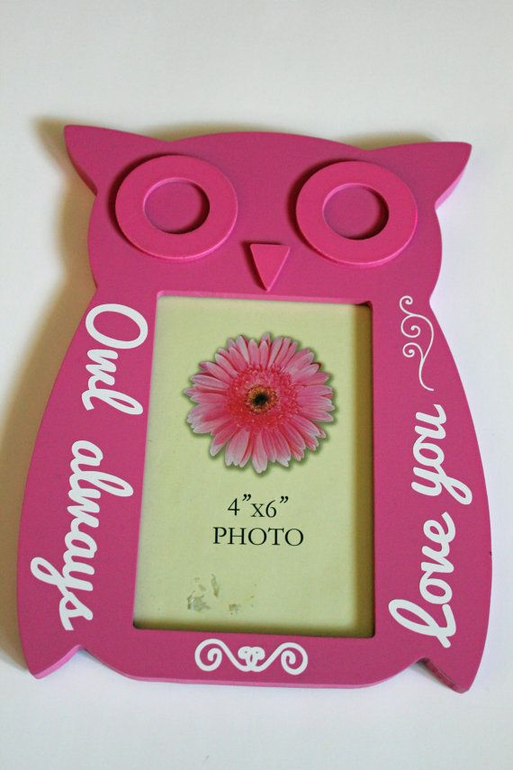 Owl Picture frame \
