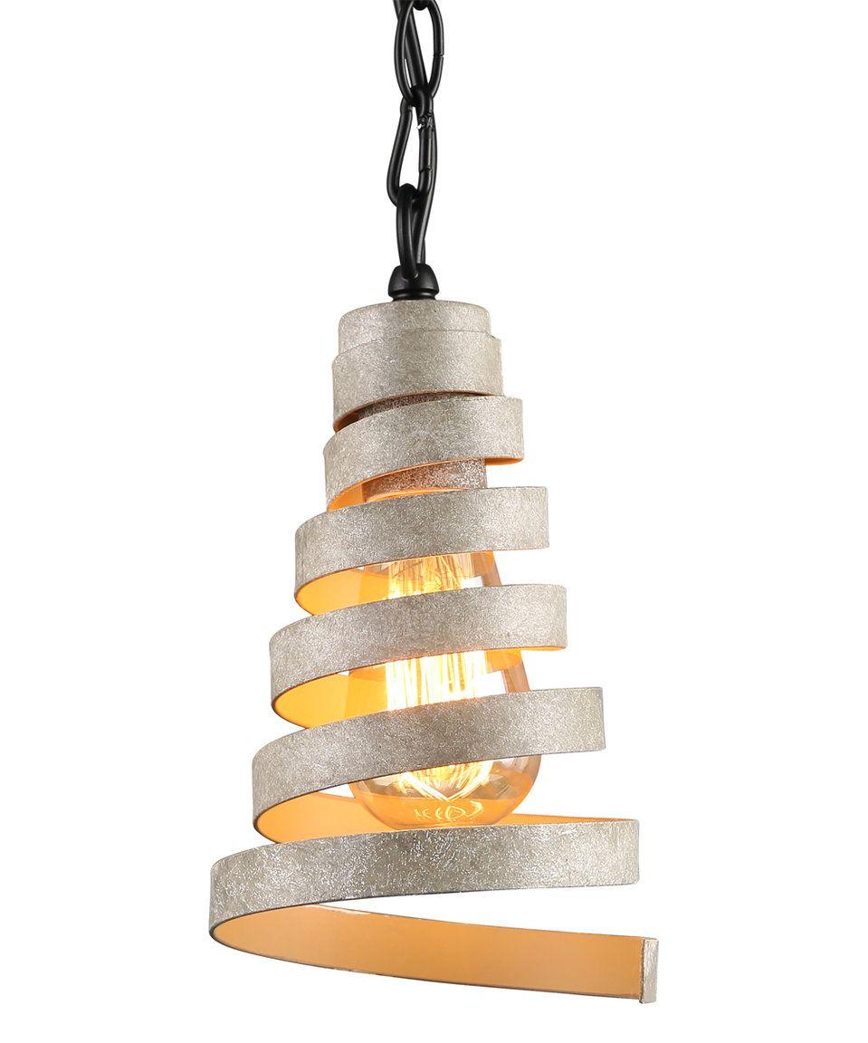 journee lighting. Spiral Cone Pendant Light By Journee Home #zulily #zulilyfinds Lighting 6