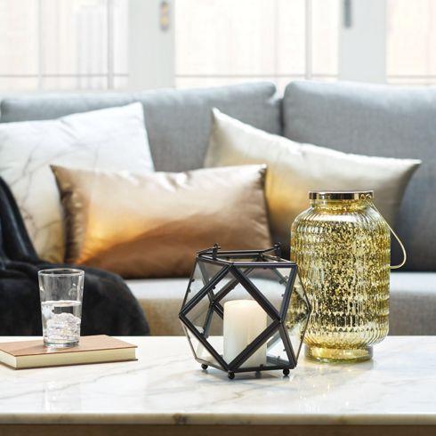 Laterne aus Eisen und Glas – Industrielles Flair mit romantischem Charme