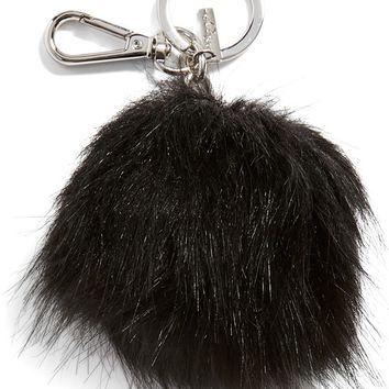 Halogen® Faux Fur Pom Bag Charm | Nordstrom