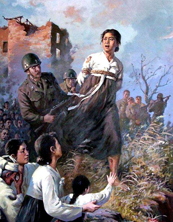 How North Korean Propaganda Depicts, And Distorts, America