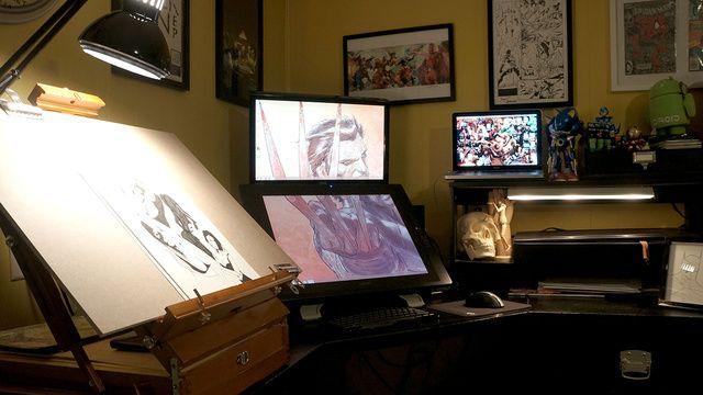 Lifehacker Do Everything Better Workspace Studio Graphic Design Workspace Graphic Designer Office