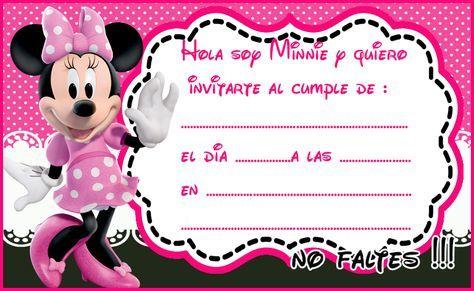 Pin De Lorena En Minnie Tarjeta De Cumpleaños Minnie