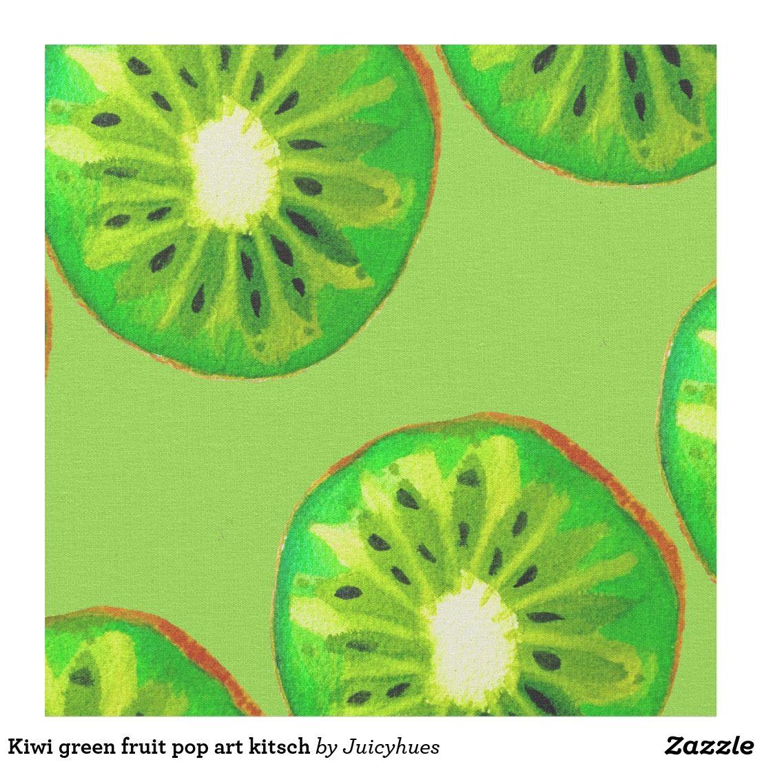 Summer kiwi card original art
