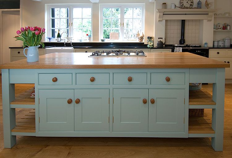 Beaded inset cabinets in English cottage kitchen.  Great island design.  Clean, simple, sturdy, classic.